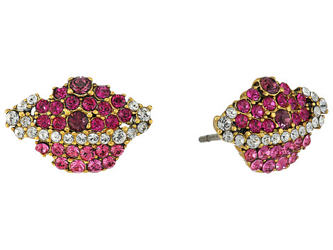 Marc Jacobs Charms Celestial Strass Planet Studs Earrings - Pink Multi