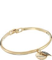 Marc Jacobs - MJ Coin Lightning Hinge Cuff Bracelet