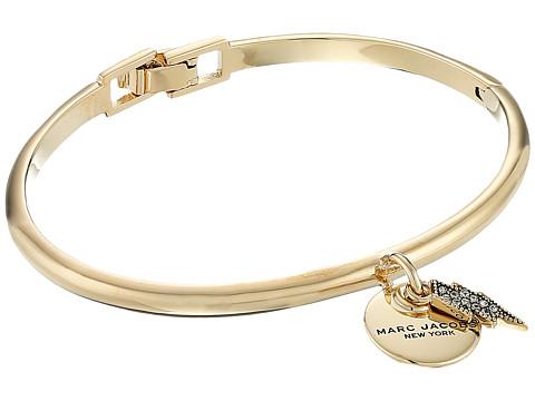 Marc Jacobs MJ Coin Lightning Hinge Cuff Bracelet
