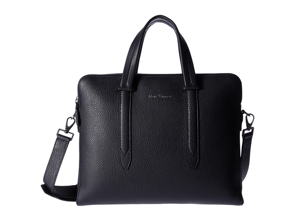 Salvatore Ferragamo Firenze Briefcase 240469 (Black) Briefcase Bags