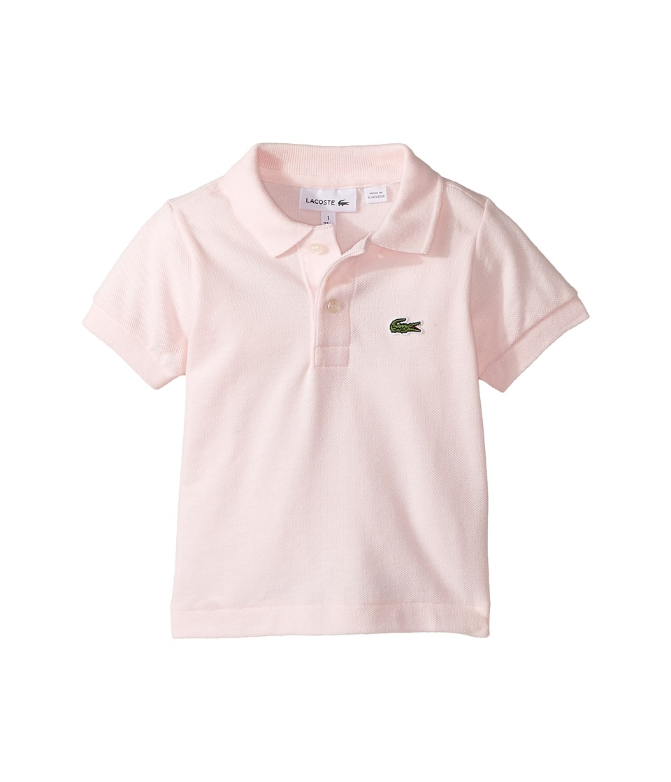 Lacoste Kids - L1812 Short Sleeve Classic Pique Polo (Tod...
