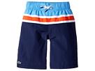 Lacoste Kids - Color Block Stripe Swimsuit (Little Kids/Big Kids)