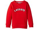 Lacoste Kids - Crew Neck Fleece w/ Logo (Toddler/Little Kids/Big Kids)