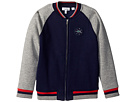 Lacoste Kids - Full Zip Varsity Fleece (Toddler/Little Kids/Big Kids)