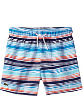 Lacoste Kids - Irregular Stripe Swimsuit (Little Kids/Big Kids)