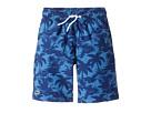 Lacoste Kids - Palm Tree Print Swimsuit (Little Kids/Big Kids)