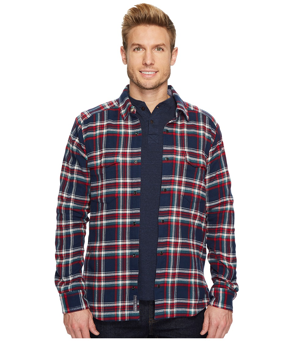 Toad&Co - Mojac Overshirt (Deep Navy) Mens Long Sleeve Button Up