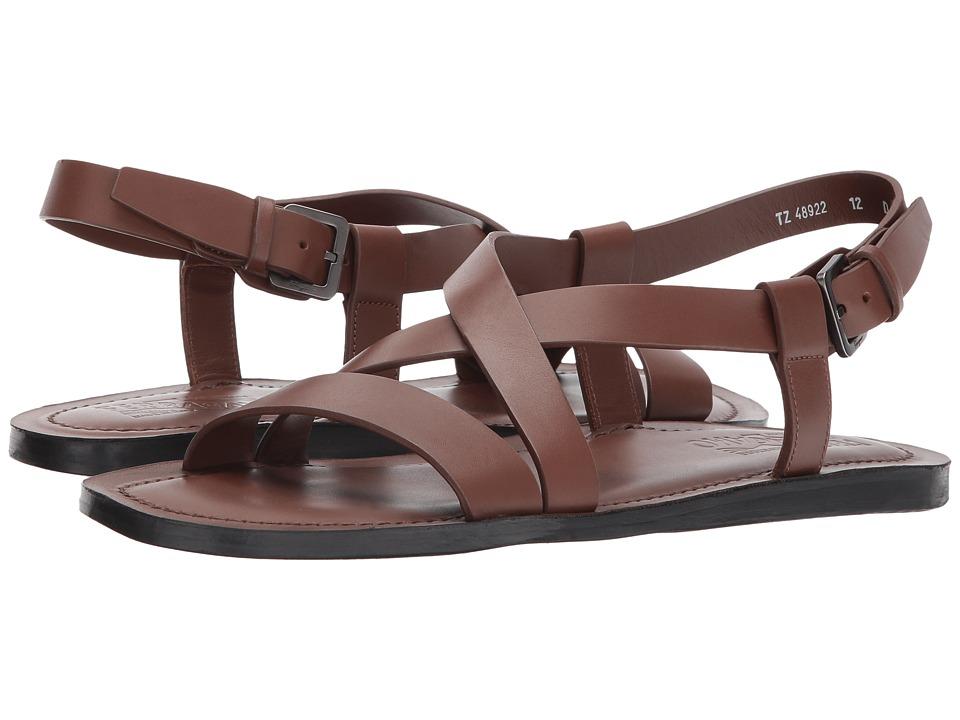 Salvatore Ferragamo - Nostro Sandal (Havana) Men's Sandals
