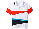 Sport Geometric Stripe Ultradry Polo (Little Kids/Big Kids)