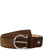 Salvatore Ferragamo - Twisted Metal Buckle Belt - 679763