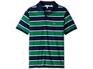 Lacoste Kids - Short Sleeve Jersey Stripe Polo (Infant/Toddler/Little Kids/Big Kids)