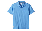 Lacoste Kids - Short Sleeve Solid Jersey Polo (Toddler/Little Kids/Big Kids)