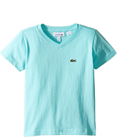 Lacoste Kids - Short Sleeve V-Neck Tee (Toddler/Little Kids/Big Kids)