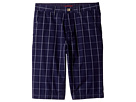Lacoste Kids - Windowpane Check Bermuda Shorts (Little Kids/Big Kids)