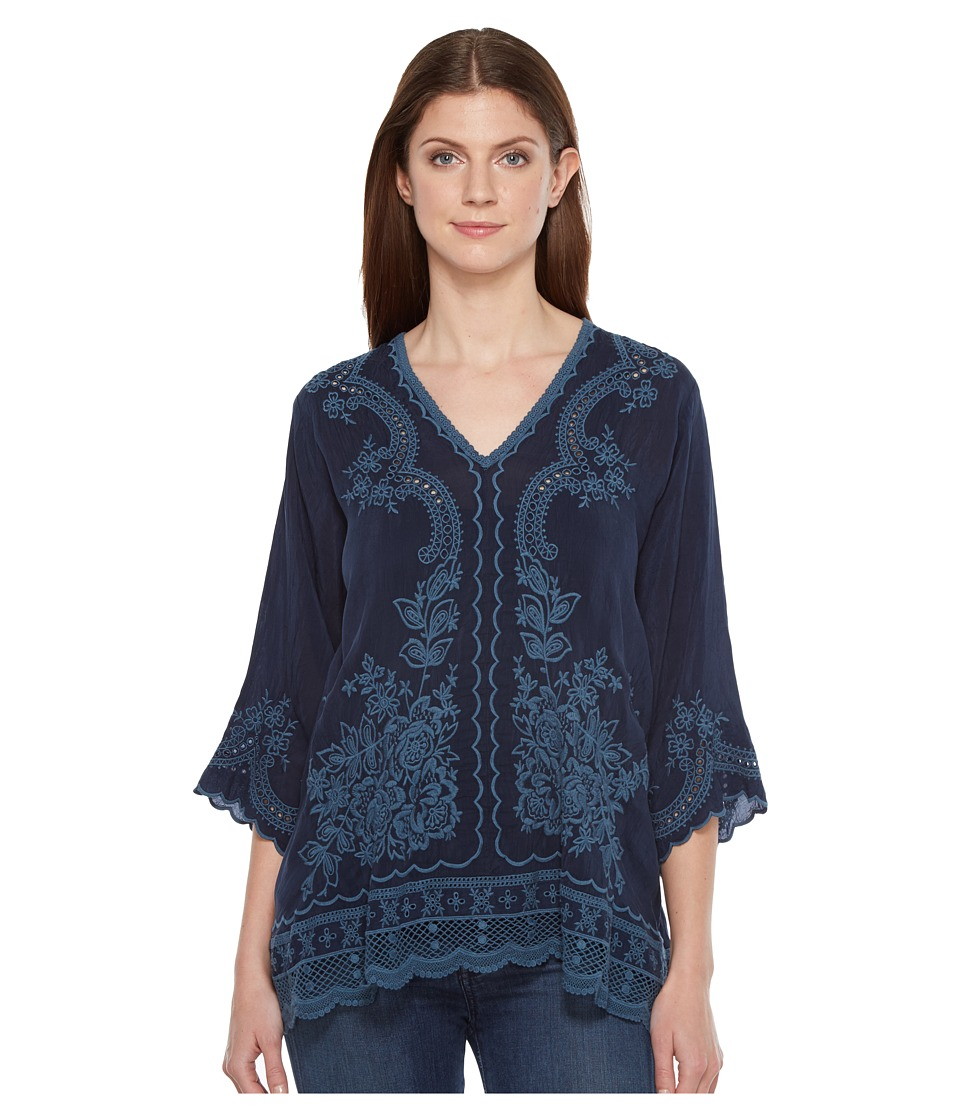 Johnny Was - Embroidered Blouse