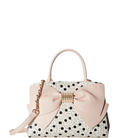Betsey Johnson - Pearl Of A Girl Bow Satchel