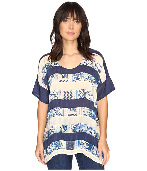 Johnny Was Retreat Panel Top - Multi A