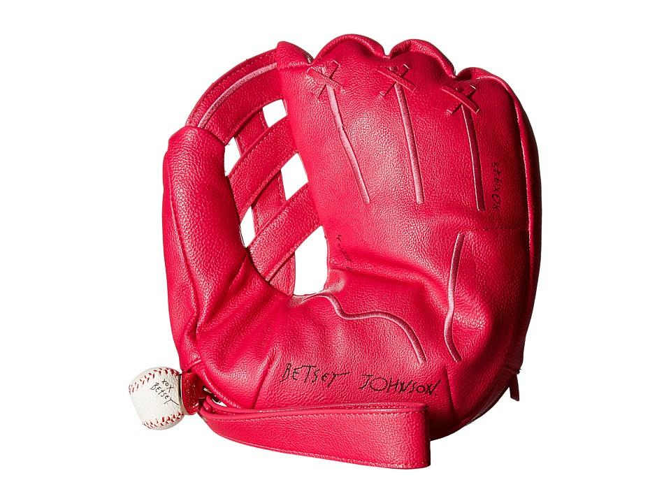 Betsey Johnson - I Glove You Man Wristlet (Fuchsia) Wristlet Handbags