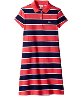 Lacoste Kids - Pique Bold Stripe Dress (Toddler/Little Kids/Big Kids)
