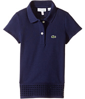 Lacoste Kids - Pique Polo w/ Eyelet Details (Toddler/Little Kids/Big Kids)
