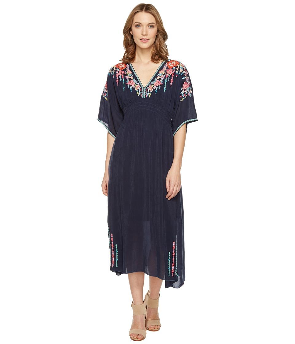 Johnny Was - Margaret Kimono Dress w/ Slip