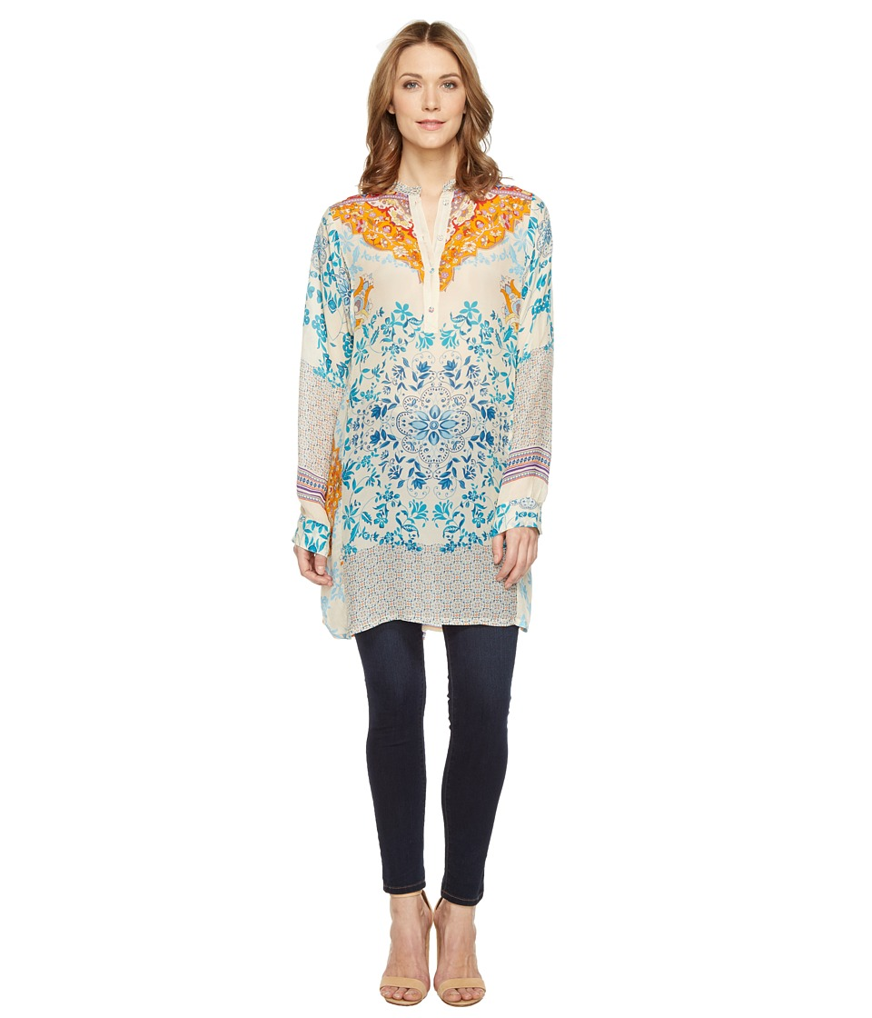 Johnny Was - Ellyonora 1/2 Placket Tunic