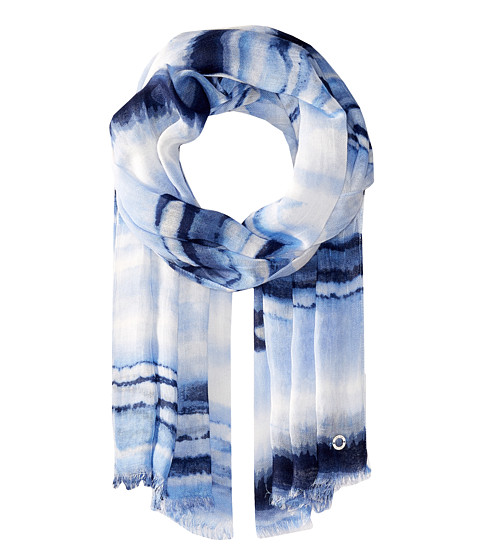Calvin Klein Watercolor Linen Like Stripe - Serene
