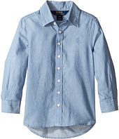 Polo Ralph Lauren Kids - Lightweight Cotton Button Front Shirt (Toddler)