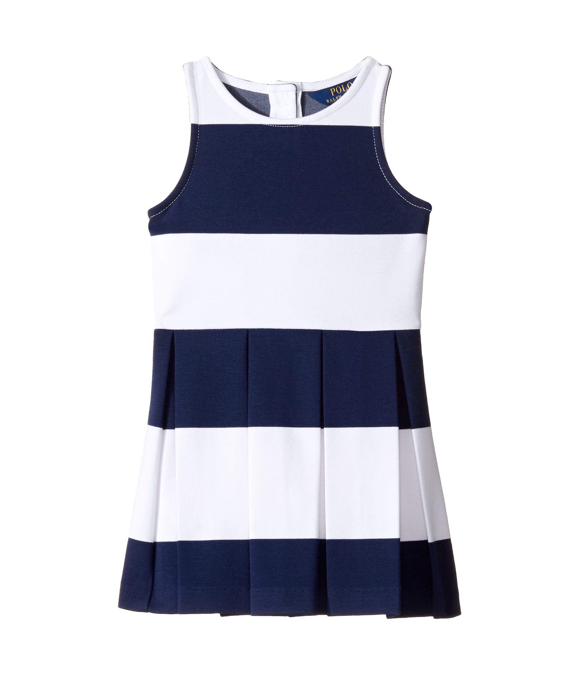 Polo ralph lauren kids ponte stripe dress toddler at for Ralph lauren kids