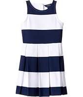 Polo Ralph Lauren Kids - Ponte Stripe Dress (Little Kids)