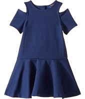 Polo Ralph Lauren Kids - Solid Ponte Dress (Little Kids)