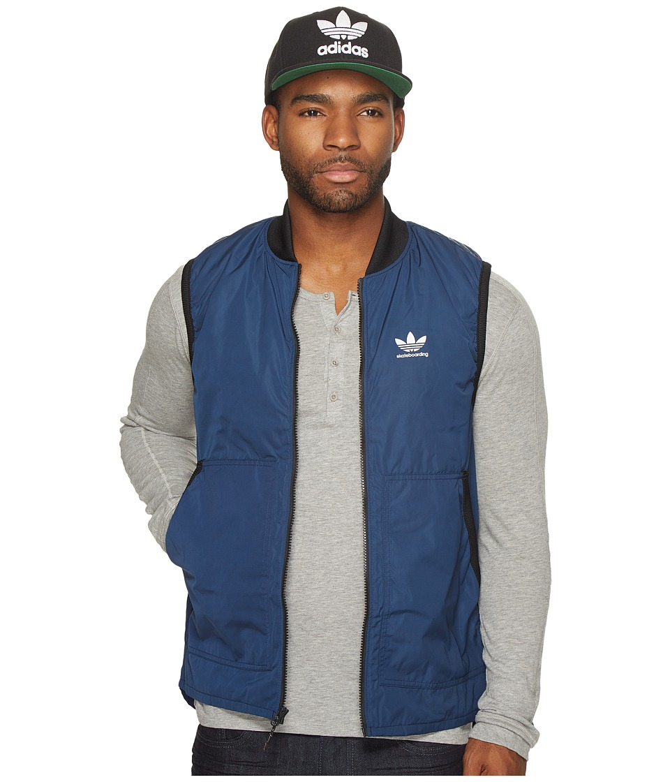 adidas Skateboarding Meade Light Vest (Collegiate Navy/Black) Men