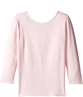 Polo Ralph Lauren Kids - Cotton Scoop Knit Top (Little Kids/Big Kids)