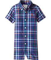 Ralph Lauren Baby - Yarn-Dyed Oxford Plaid Shortalls (Infant)