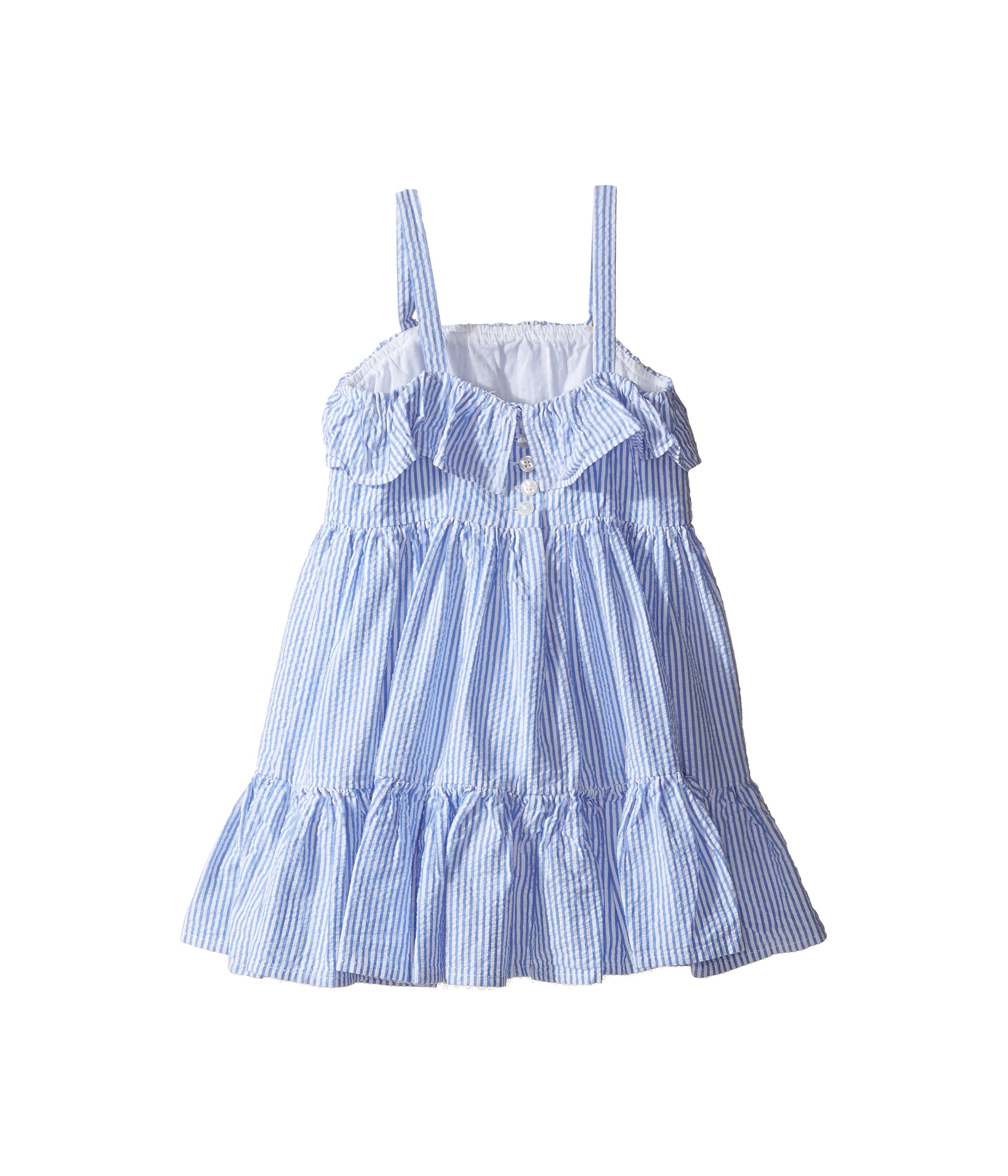 Polo Ralph Lauren Kids Seersucker Dress Toddler Zappos
