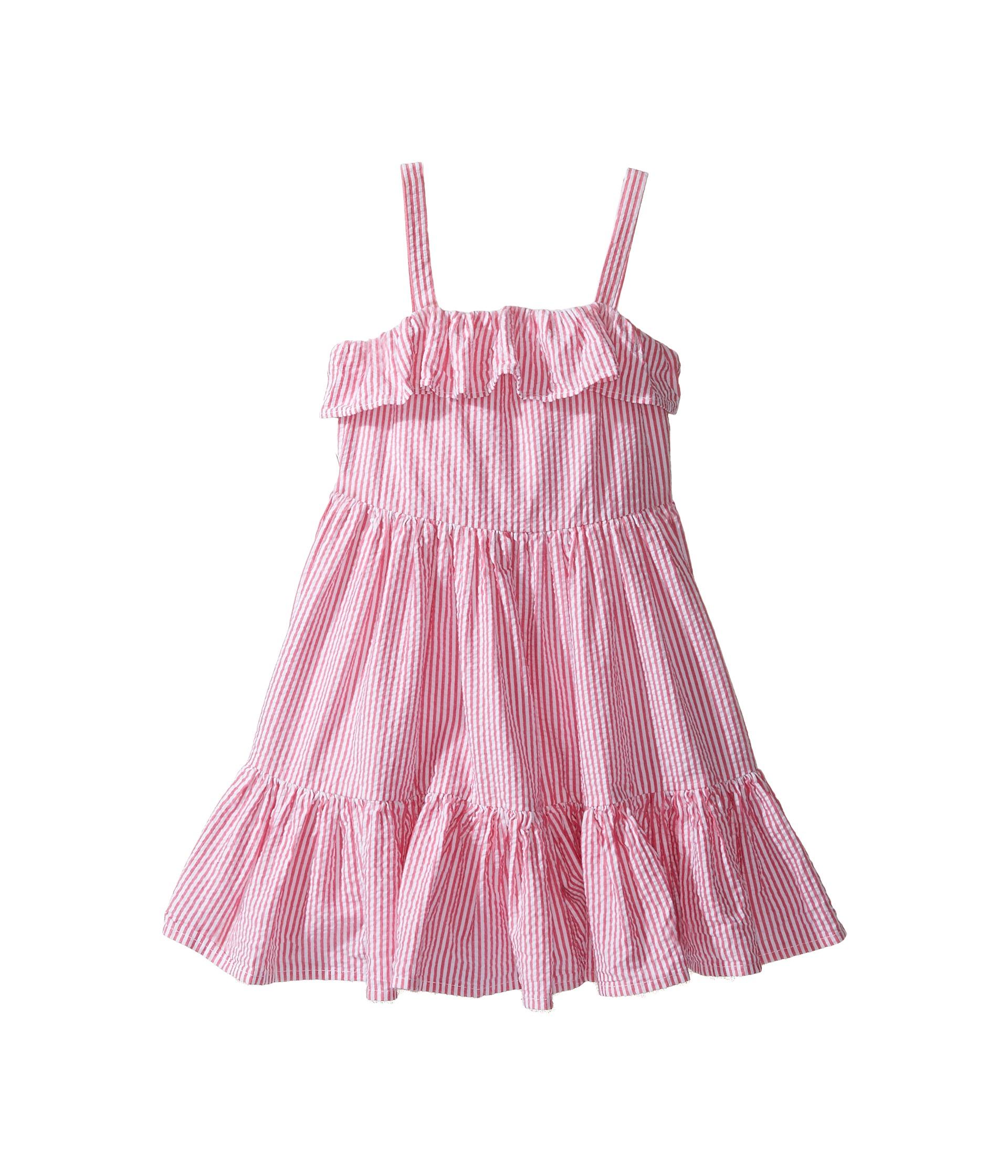 Polo Ralph Lauren Kids Seersucker Dress Toddler Pink