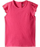 Ralph Lauren Baby - Cotton Jersey Flutter Top (Infant)