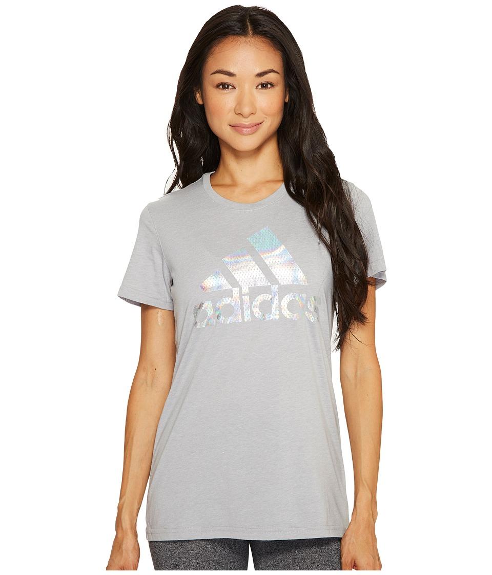 adidas - Badge of Sport Iridescent Mesh Tee
