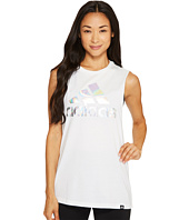 adidas - Badge of Sport Iridescent Mesh Muscle Tank Top