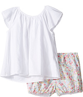 Ralph Lauren Baby - Printed Cotton Flutter Top Shorts Set (Infant)