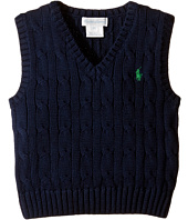 Ralph Lauren Baby - Cotton Cable Sweater Vest (Infant)