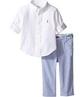 Ralph Lauren Baby - Oxford Mesh Seersucker Pants Set (Infant)
