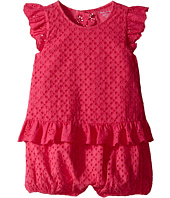 Ralph Lauren Baby - Eyelet Bubble Shortalls (Infant)