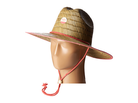 Roxy Tomboy Girl Straw Hat - Spiced Coral