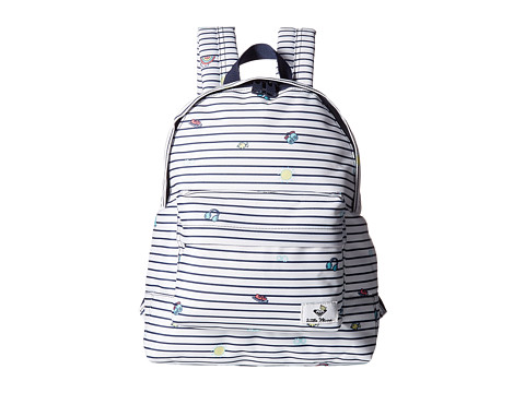 Roxy Little Miss Daydream Backpack - Marshmallow Little Miss Stripe