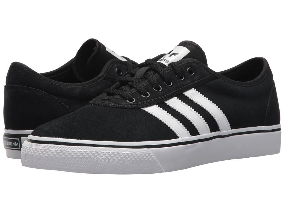 Image of adidas Skateboarding - Adi-Ease (Core Black/Footwear White/Core Black) Skate Shoes