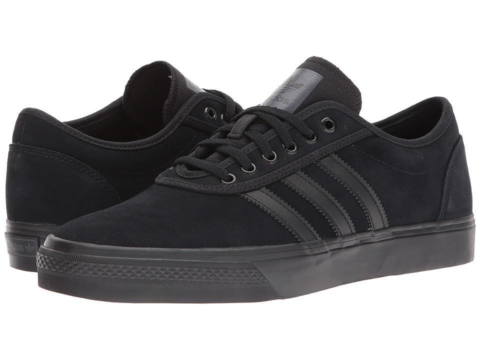 Image of adidas Skateboarding - Adi-Ease (Core Black/Core Black/Core Black) Skate Shoes