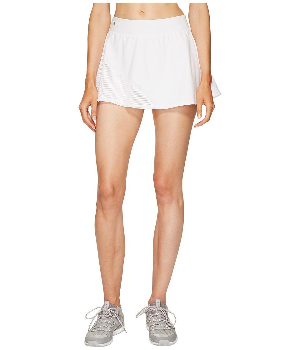 adidas Stella McCartney Barricade Skirt (White/Grey 4) Women