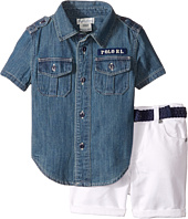 Ralph Lauren Baby - Denim Shorts Set (Infant)