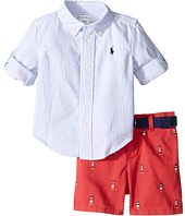 Ralph Lauren Baby - Oxford Schiffli Shorts Set (Infant)
